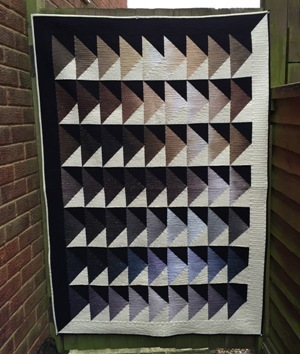 Ombre Geese Quilt Pattern